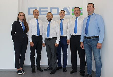 2008 Establishment of the subsidiary in Russia: GEDA RUS, LLC in Moscow