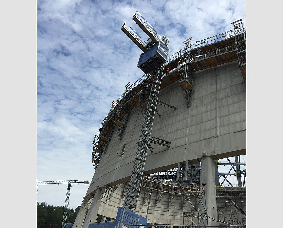 Cooling tower construction Turow 1