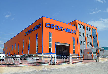 2012 Establishment of the subsidiary in Turkey: GEDA MAJOR in Istanbul
