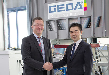 2015 Establishment of subsidiary in Korea: GEDA Korea in Seoul