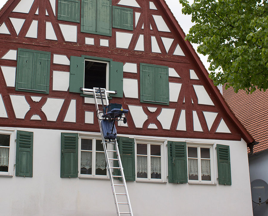 Frame house renovation Nördlingen 3