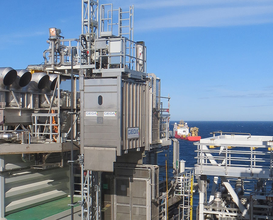 ASGARD Offshore Plant 1