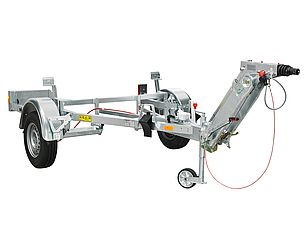 Uniaxial trailer
