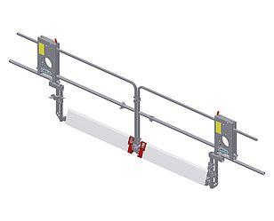 "Landing level safety gate ""Comfort Maxi"""