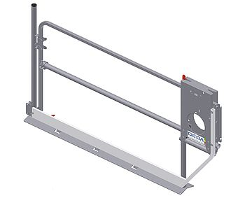 "Landing level safety gate ""Standard-Basic"""