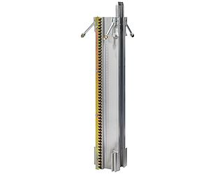 Aluminium mast 1 m