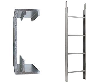 Ladder section 200/250 kg - 2 m