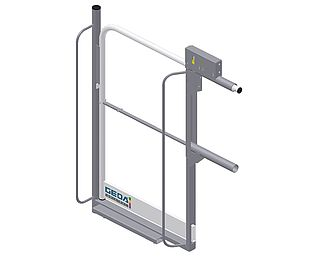 Landing level safety gate 2 PK