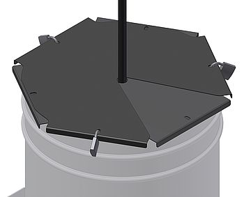 Cable bin cover