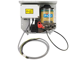 Automatic rack lubrication system (400 V)