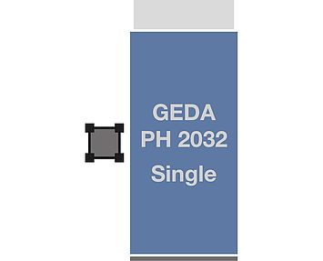 GEDA PH 2032 Single