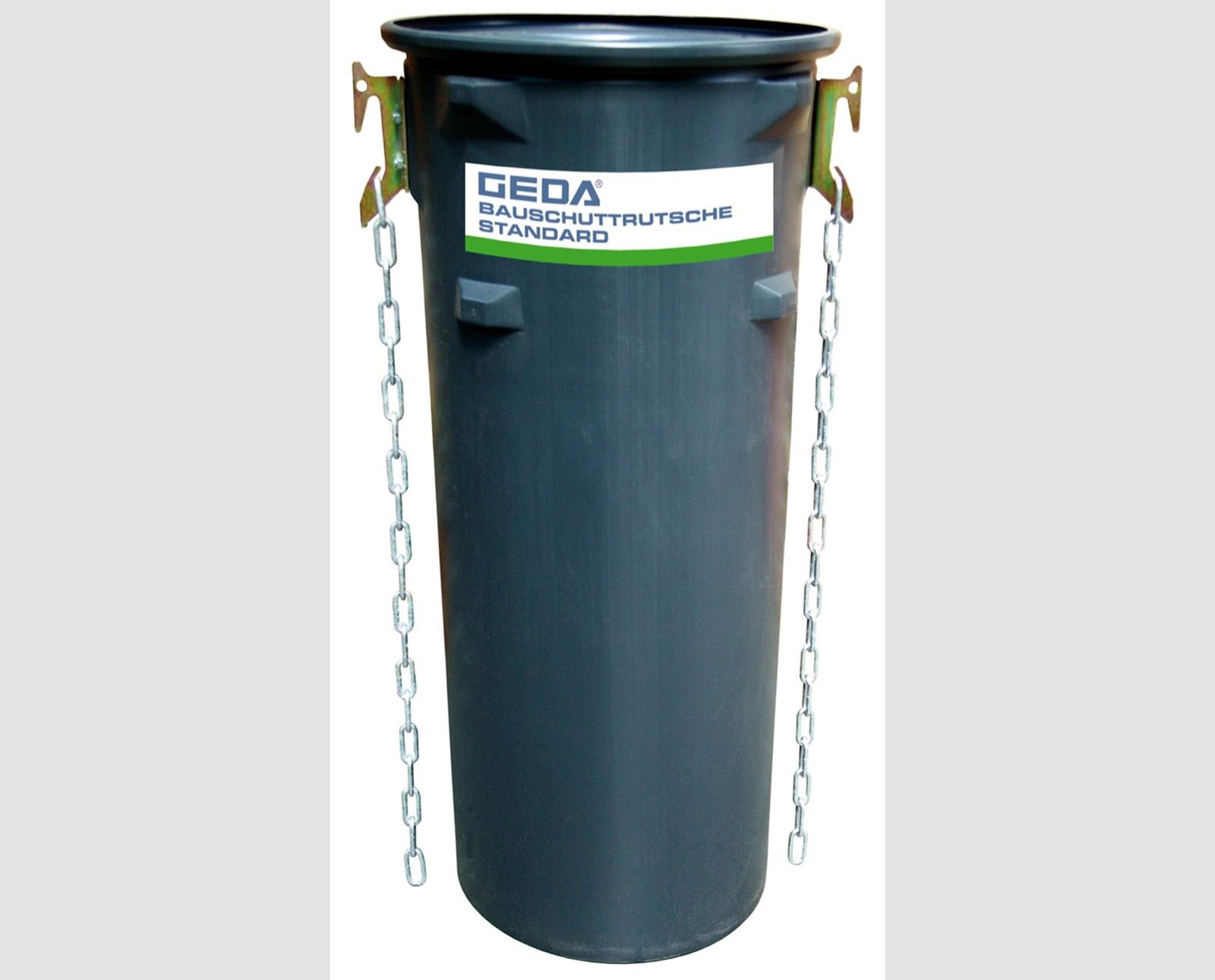 GEDA BAUSCHUTTRUTSCHE STANDARD - Made in Germany   GEDA